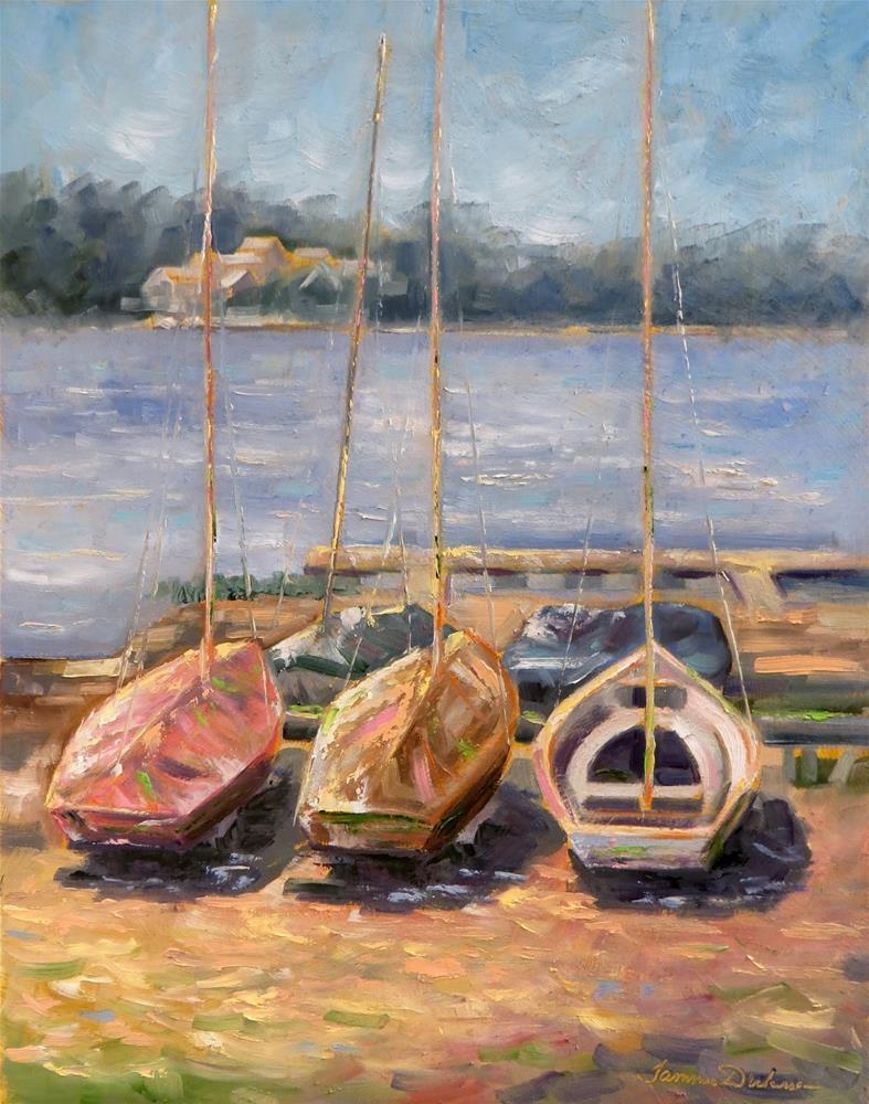 """A Dream to Sail"" original fine art by Tammie Dickerson"