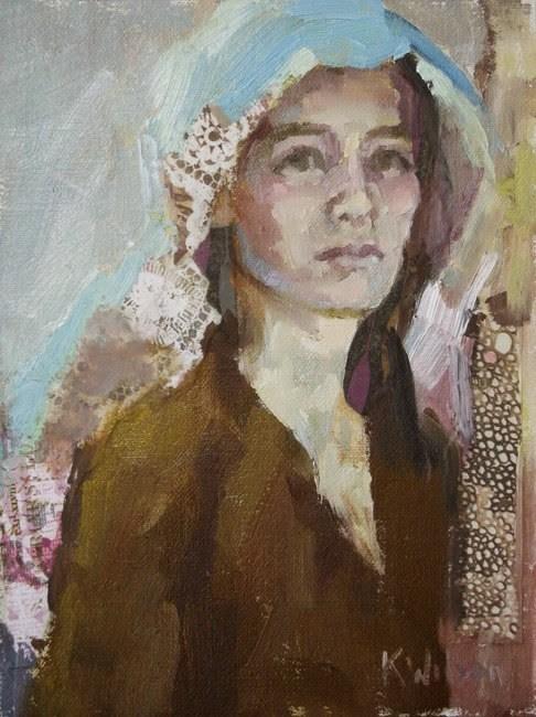 """Hiding"" original fine art by Katie Wilson"