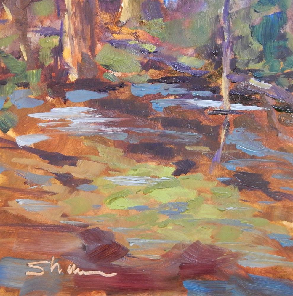 """Indian Lake Wetlands"" original fine art by Shawn Deitch"