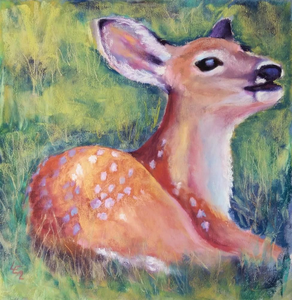 """Jubilant"" original fine art by Anna Lisa Leal"