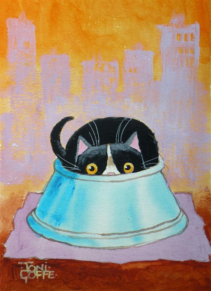 """Thy Bowl Runeth Over"" original fine art by Toni Goffe"