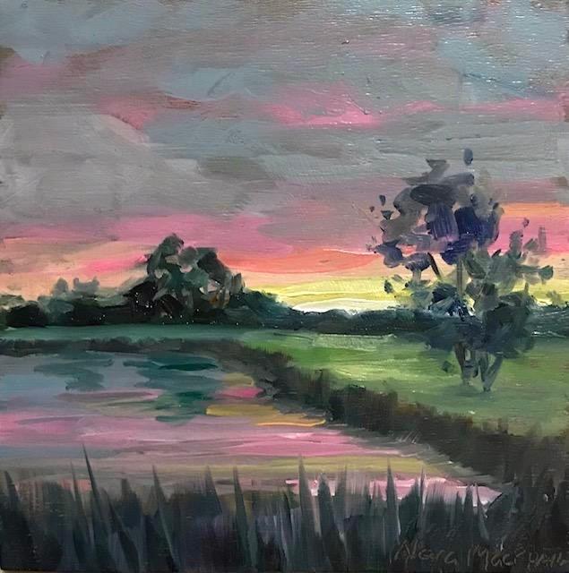 """as colour breaks"" original fine art by Nora MacPhail"