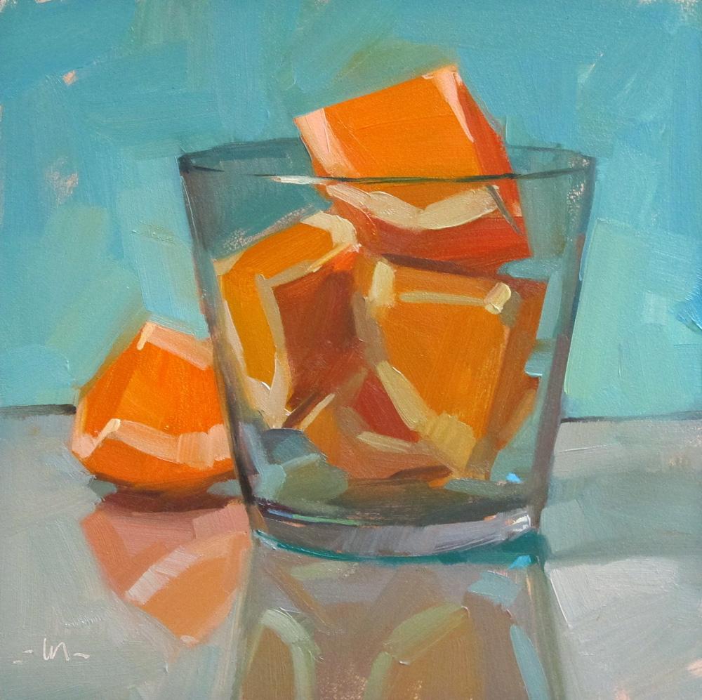 """Over-enthusiastic"" original fine art by Carol Marine"