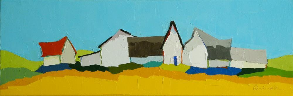 """Congregation II"" original fine art by Donna Walker"