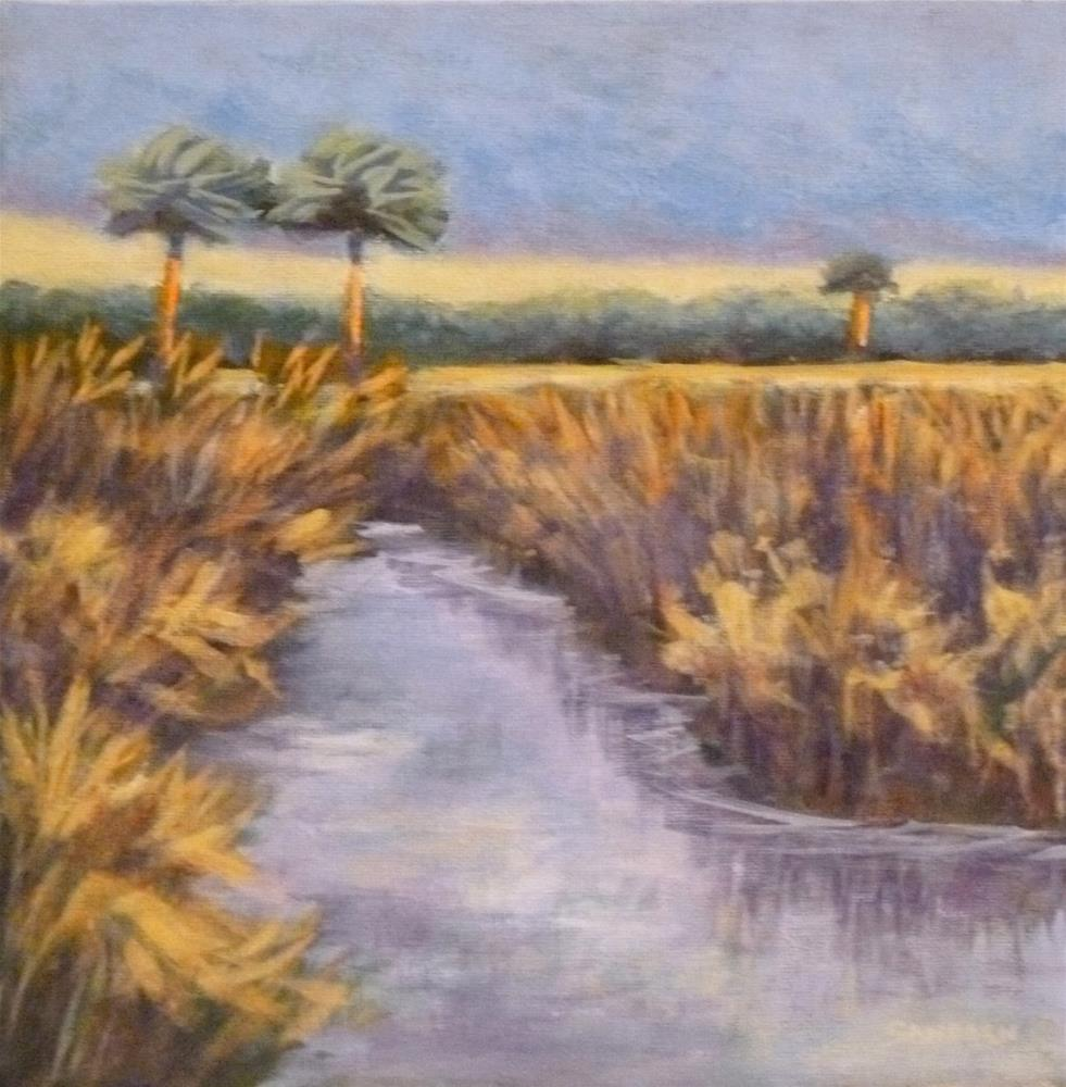 """""""Way Out There"""" original fine art by Jo-Ann Sanborn"""
