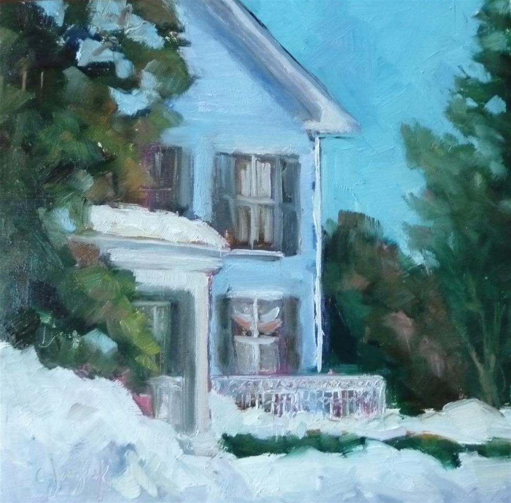 """Day After"" original fine art by Carol Josefiak"