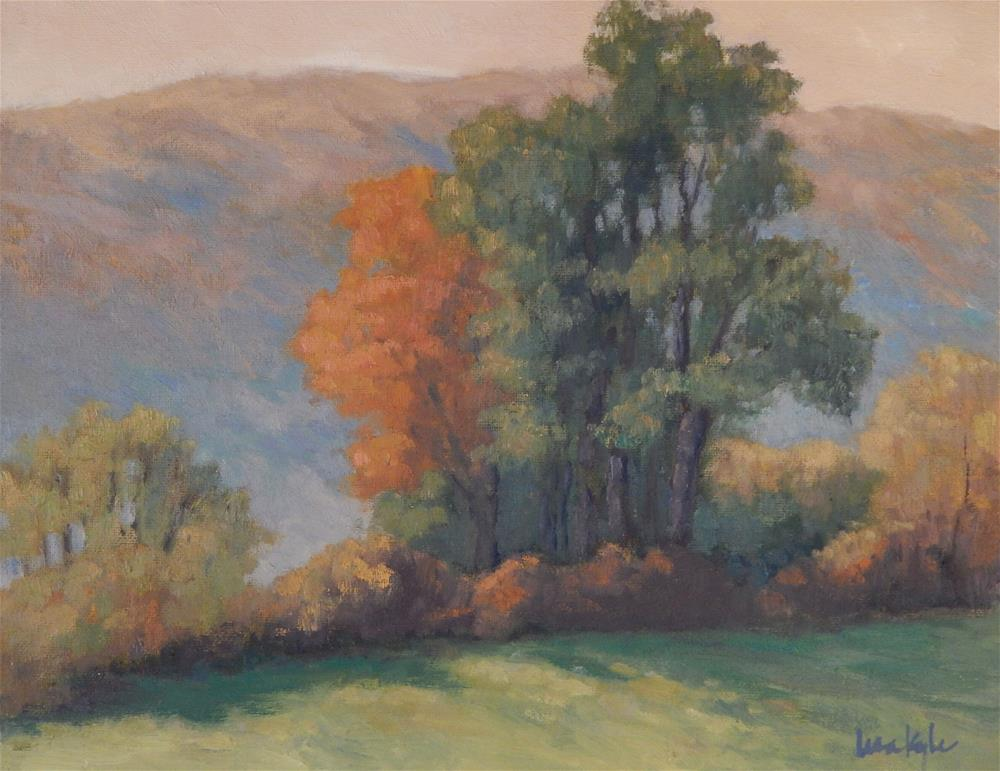 """""""Early Morning in Autumn"""" original fine art by Lisa Kyle"""