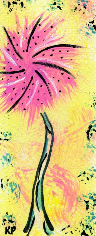 """""""Truffula in Bloom"""" original fine art by Kali Parsons"""