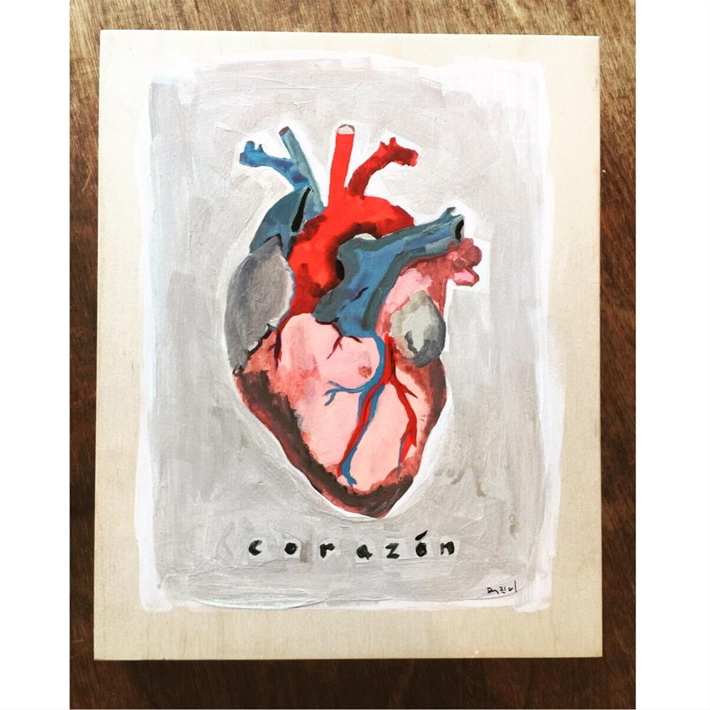 """664 Somebody Else's Heart"" original fine art by Jenny Doh"