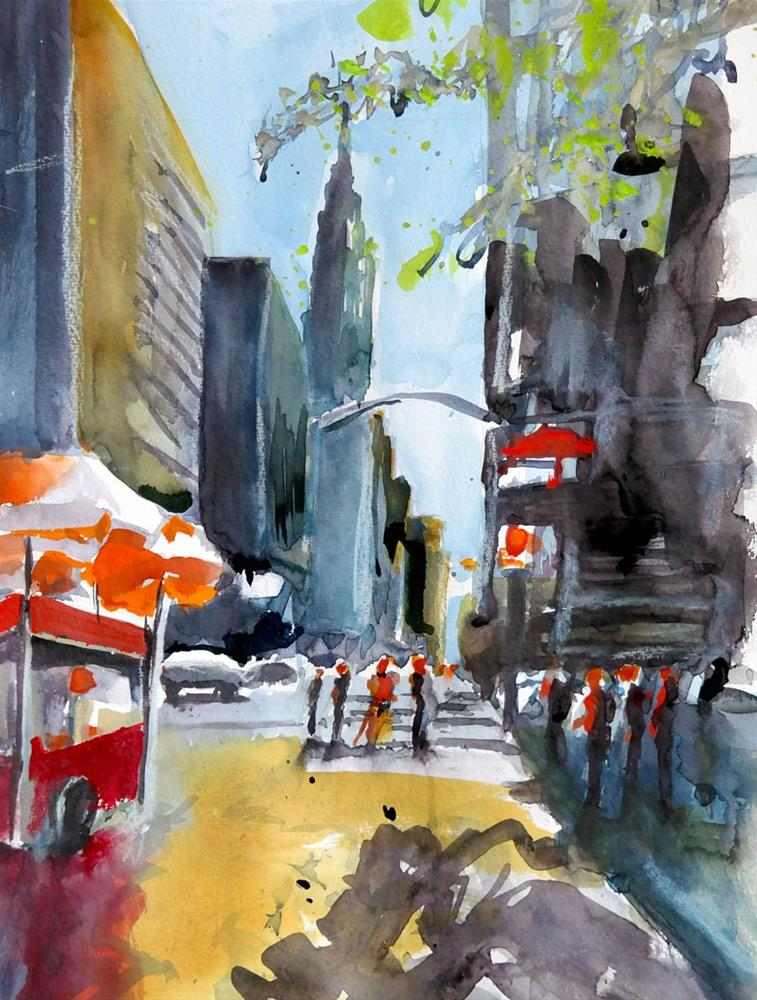 """1706 Chrysler Building"" original fine art by Dietmar Stiller"