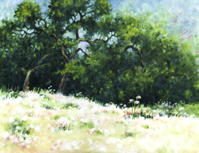 """Cream of Buckwheat"" original fine art by Ginger Pena"
