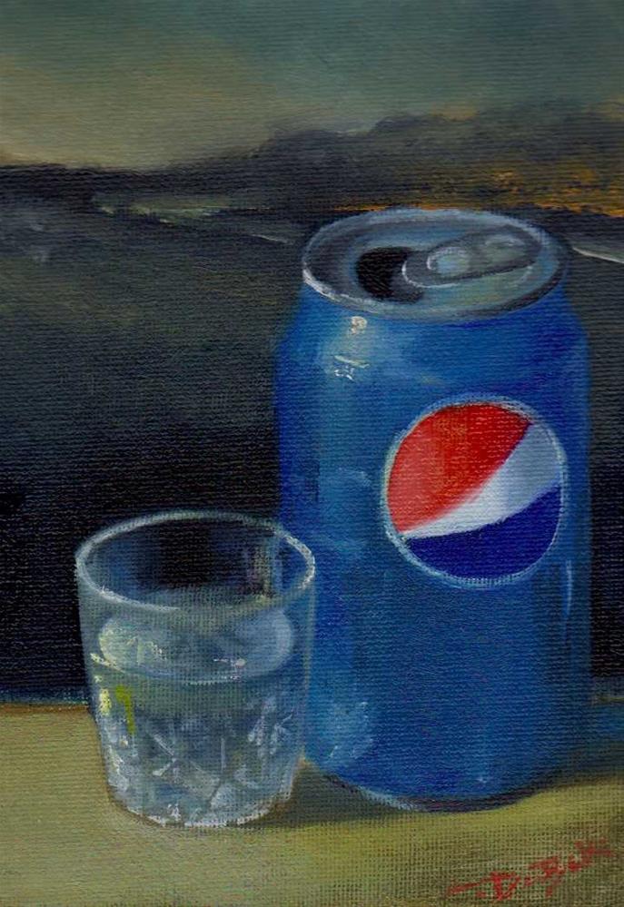 """""""relax. challenge"""" original fine art by Mark DeBak"""