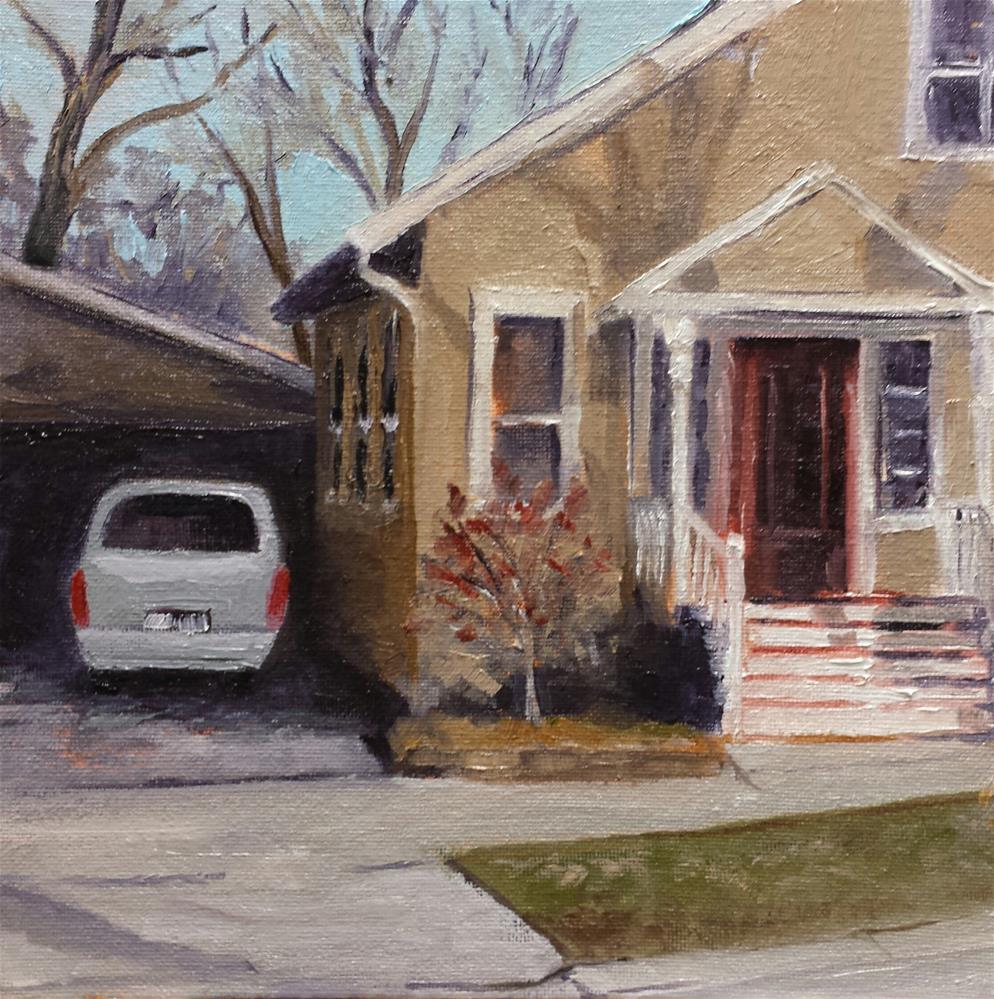 """Starting the Day"" original fine art by Judith Fletcher"