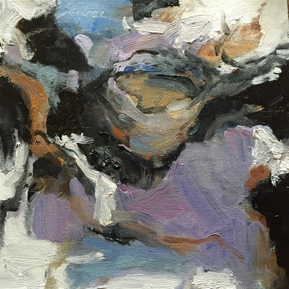 """""""Bird Nest, Day 20"""" original fine art by Connie Snipes"""