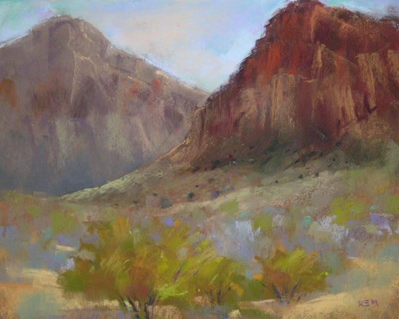 """Why We Need to Paint en Plein Air"" original fine art by Karen Margulis"