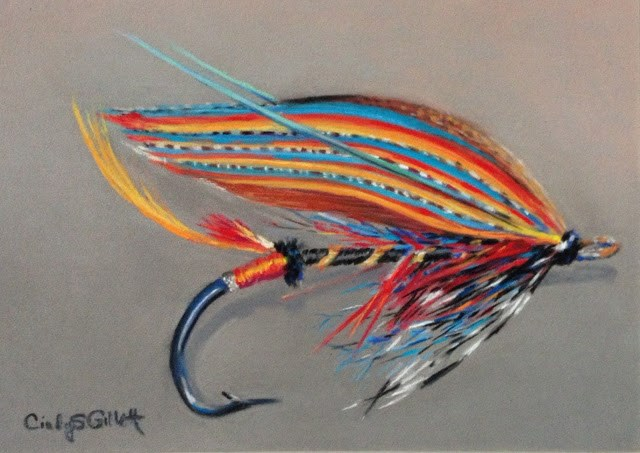 """Fly 5 - Thunder and Lightening"" original fine art by Cindy Gillett"