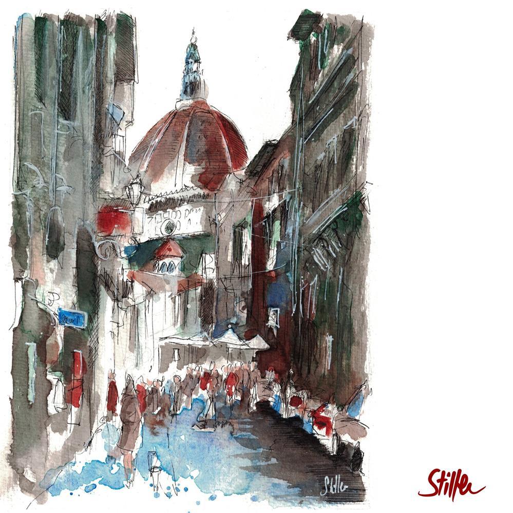 """3619 Duomo"" original fine art by Dietmar Stiller"