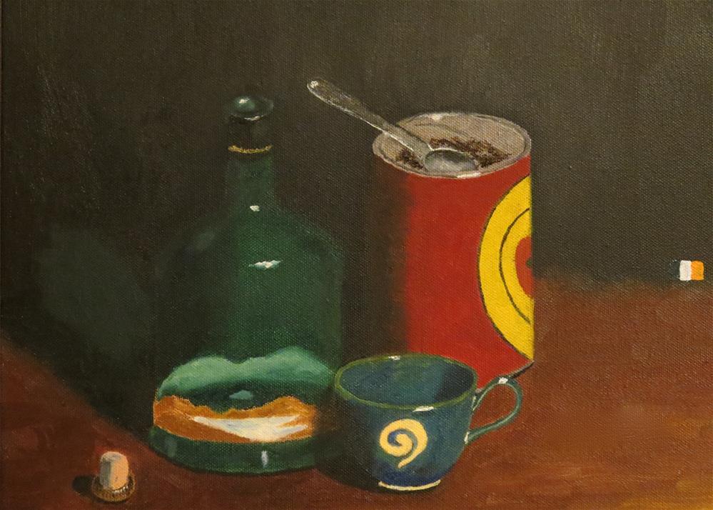 """Connemara Irish Coffee"" original fine art by Bob Blackmon"