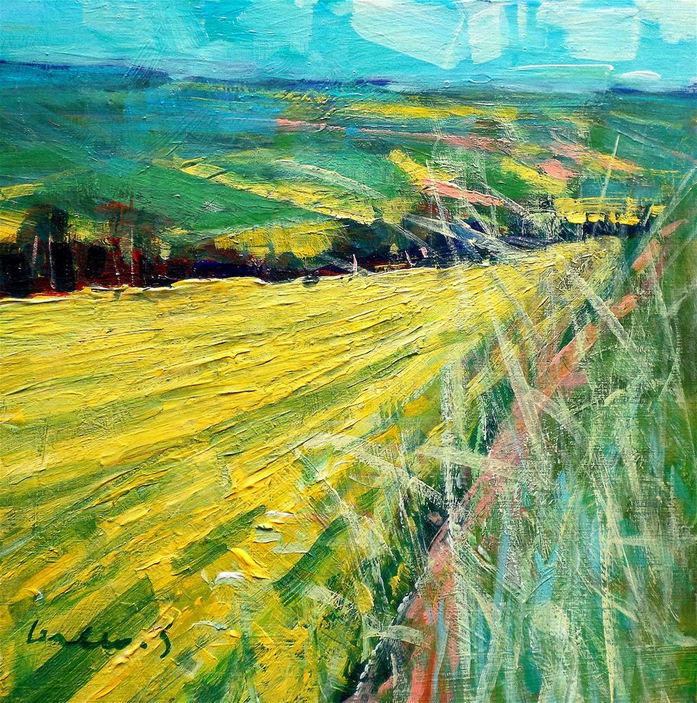 """fields"" original fine art by salvatore greco"