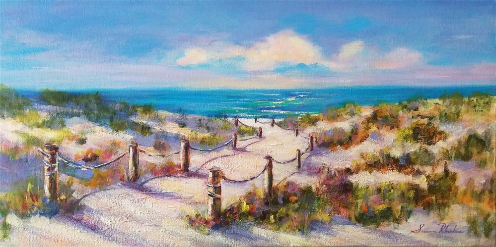 """""""Dune Colors"""" original fine art by Susan Rhodes"""