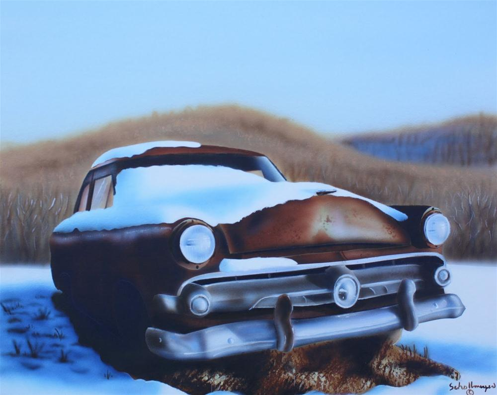 """""""Laid to Rust"""" original fine art by Fred Schollmeyer"""