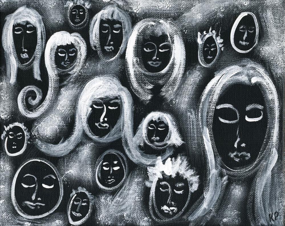 """Negative Image"" original fine art by Kali Parsons"