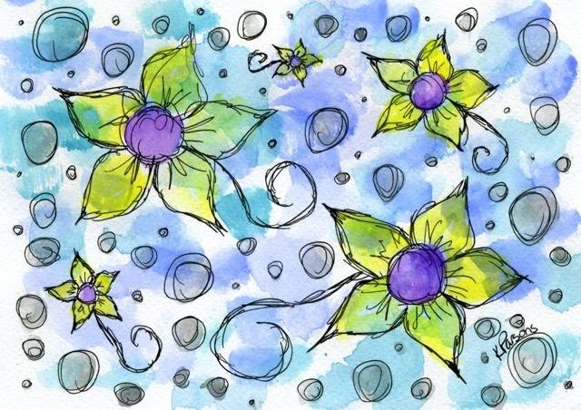 """Silver Linings"" original fine art by Kali Parsons"