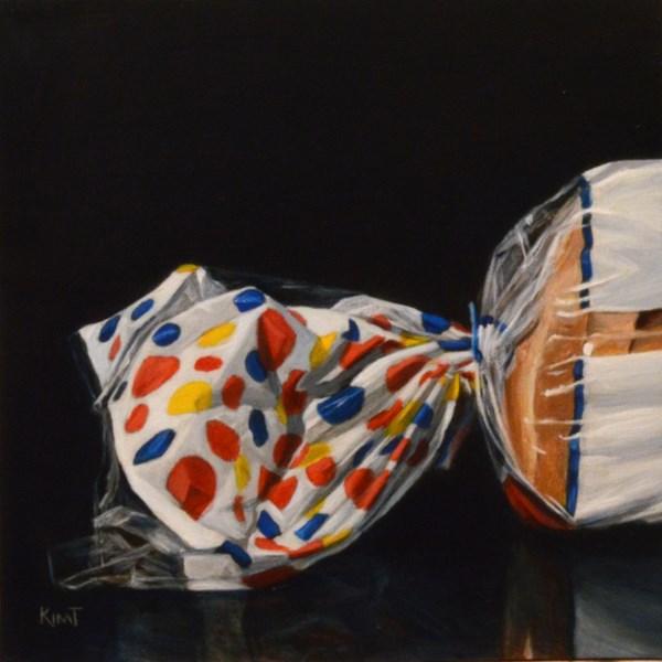 """Wonder Bread"" original fine art by Kim Testone"