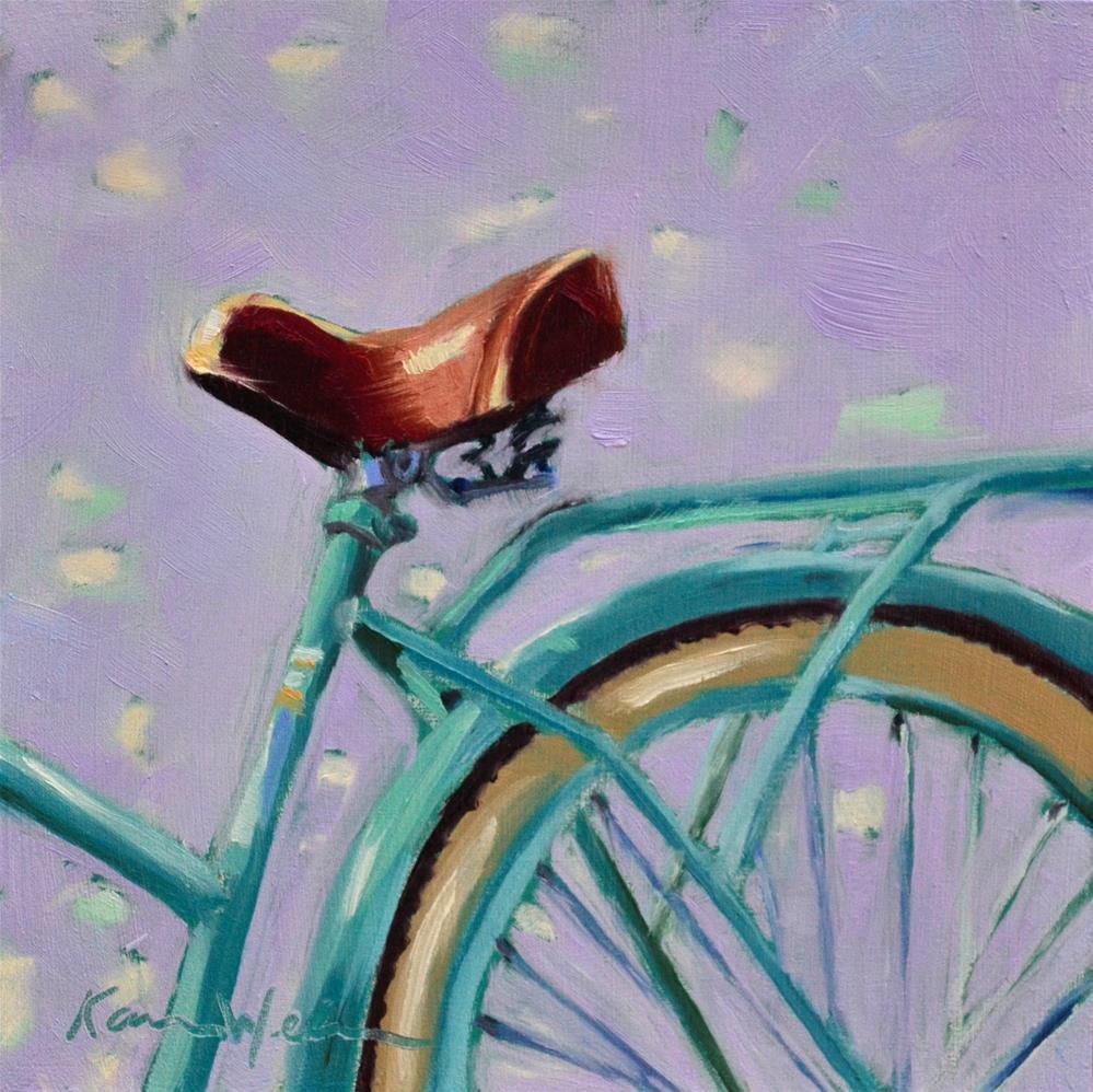 """""""Beach Ride"""" original fine art by Karen Weber"""