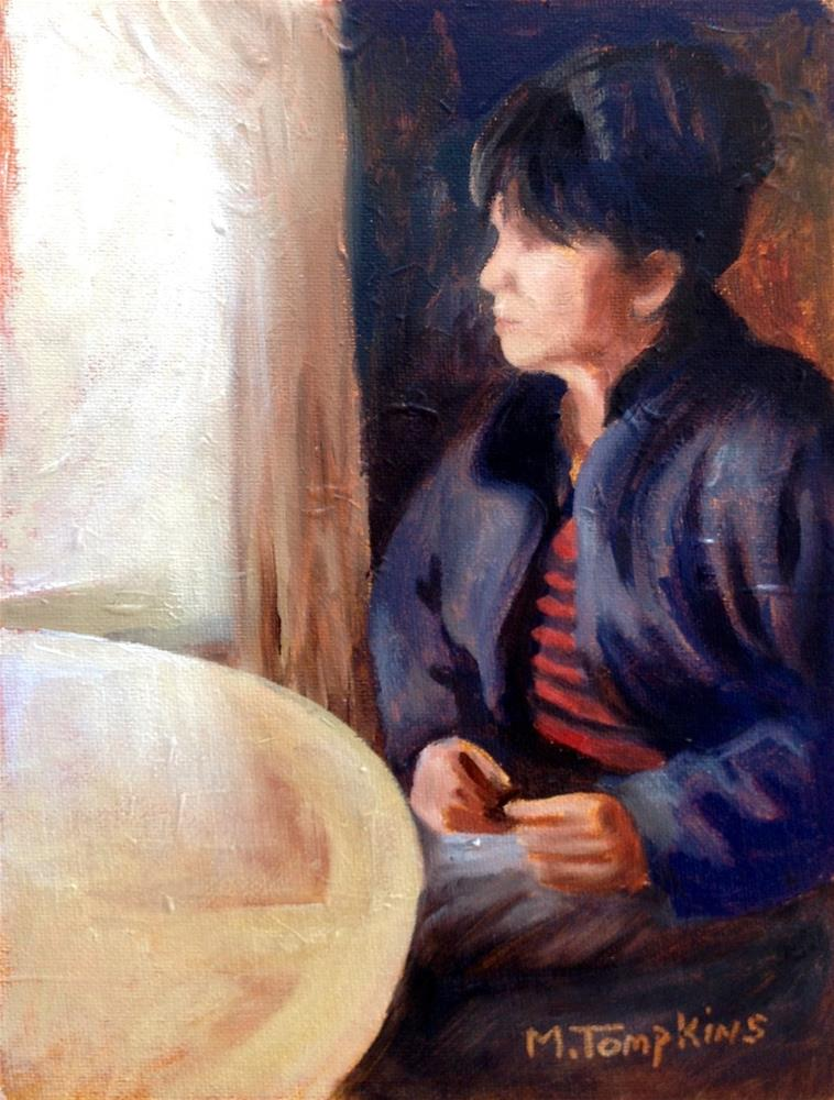 """Sigrid"" original fine art by Mark Tompkins"