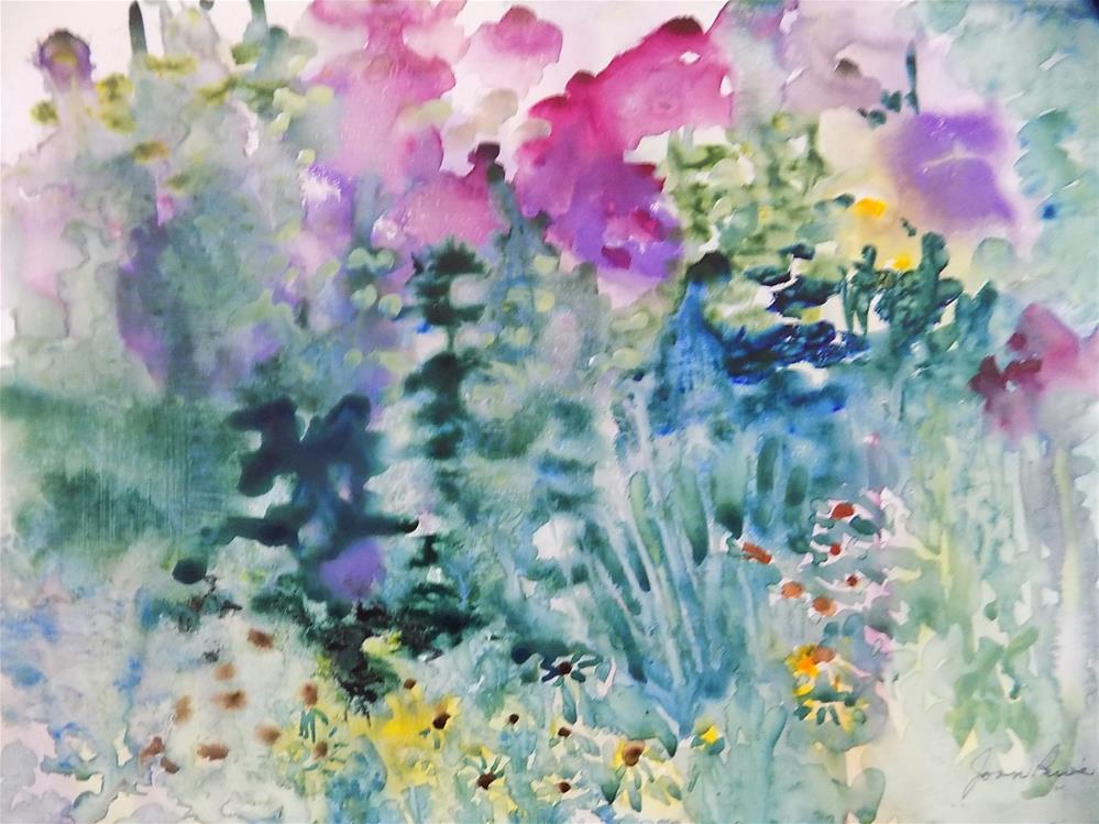 """My Tangled Garden"" original fine art by Joan Reive"