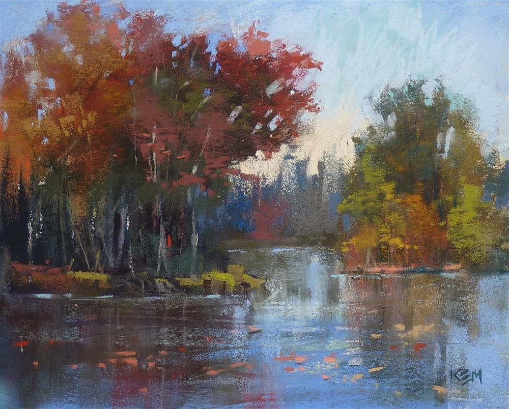 """Using Art Graf for Autumn Landscape Paintings"" original fine art by Karen Margulis"
