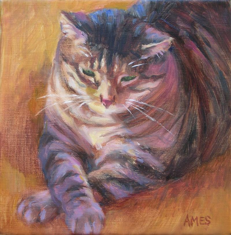 """""""Jabba"""" original fine art by Debra Ames"""