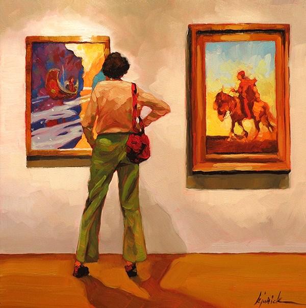 """At The Brandywine"" original fine art by Karin Jurick"
