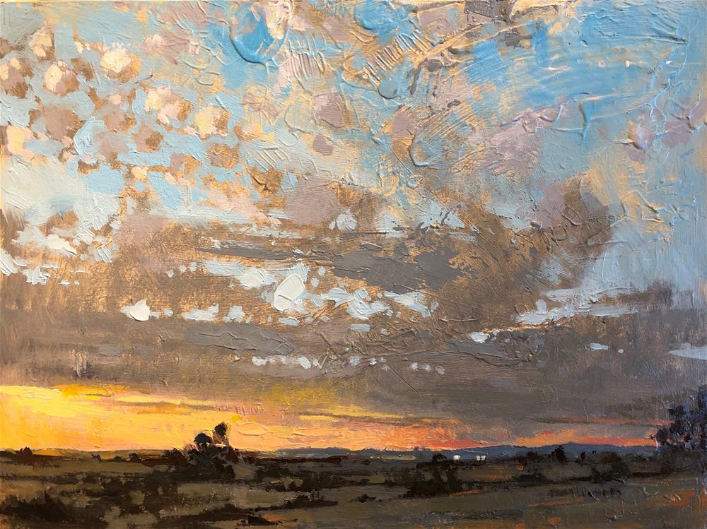 """Near The Salton Sea"" original fine art by Christopher Long"
