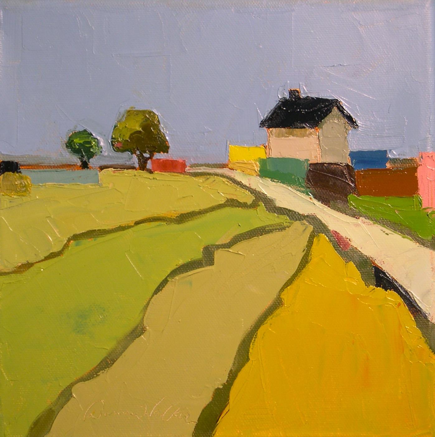 """""""Farmhouse Color"""" original fine art by Donna Walker"""