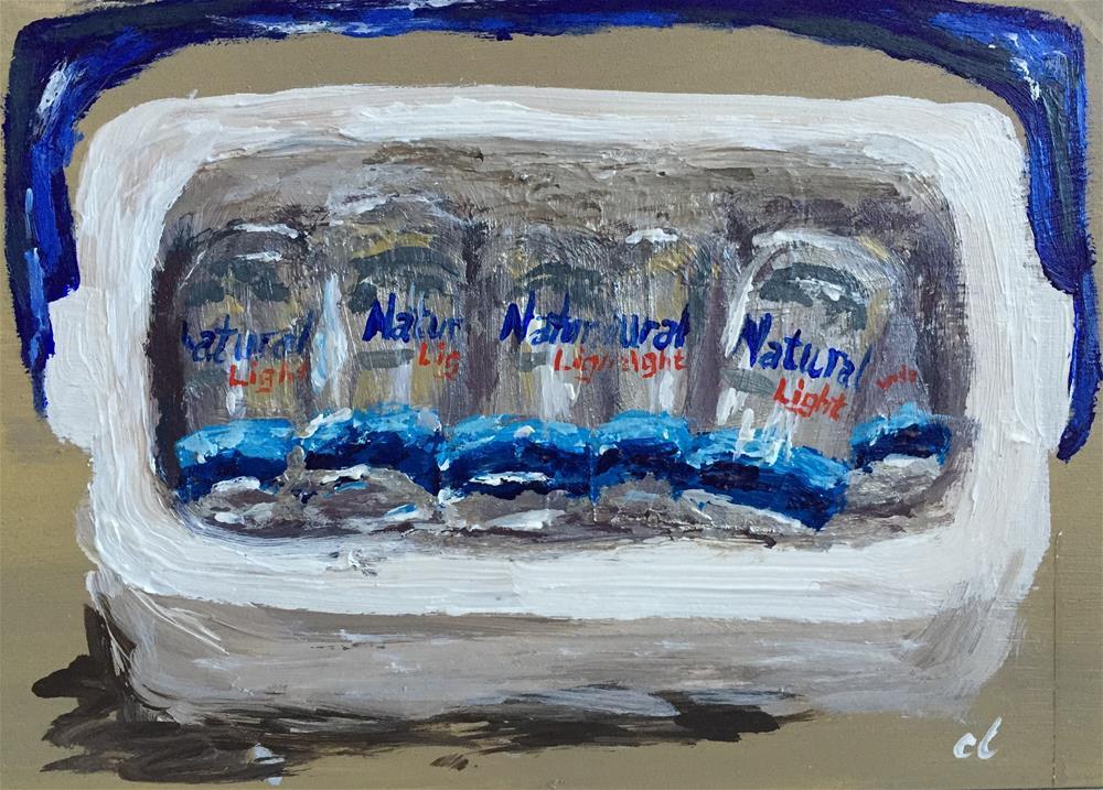 """It's all natural"" original fine art by Cheree Apalona Lueck"