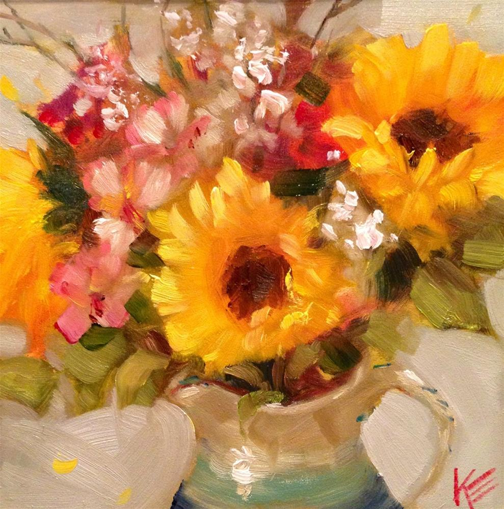 """Bundle of Joy"" original fine art by Krista Eaton"