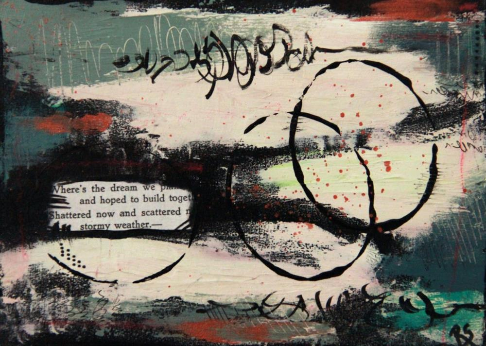 """Stormy Weather"" original fine art by Roberta Schmidt ArtcyLucy"