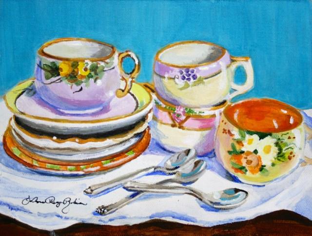 """""""Old Friends"""" original fine art by JoAnne Perez Robinson"""