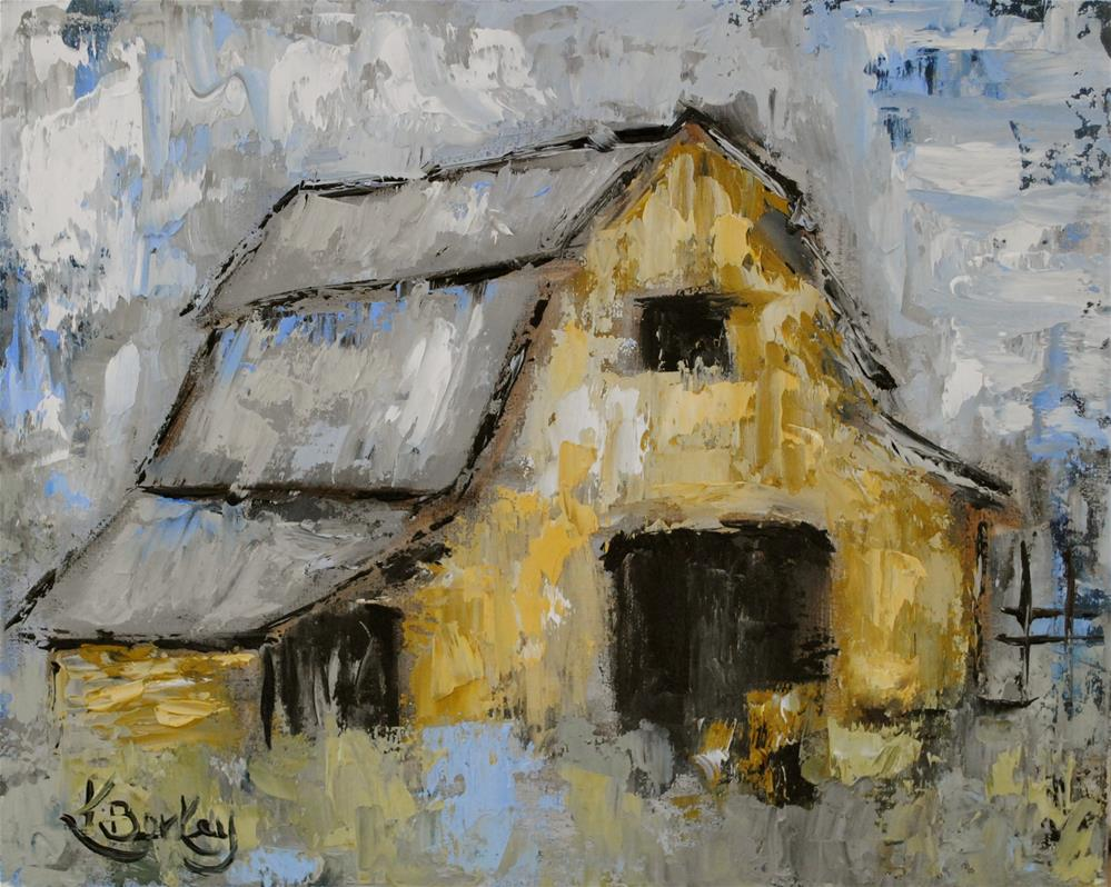 """Old Tin Roof"" original fine art by Kelly Berkey"