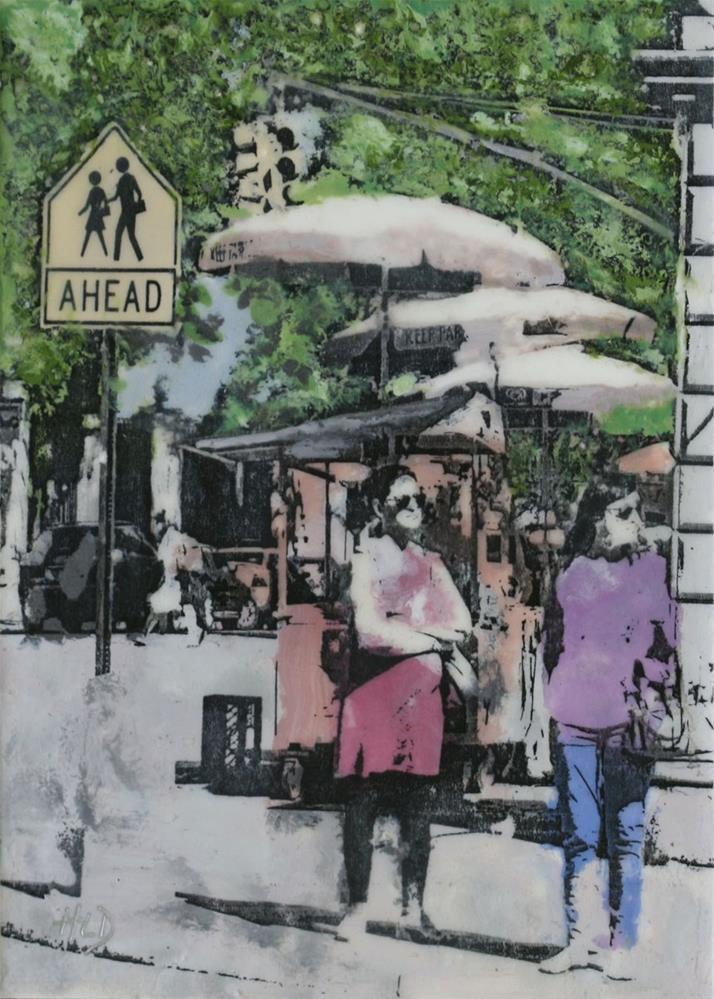 """Crossing Ahead"" original fine art by Heather Douglas"