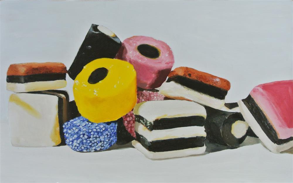 """Allsorts"" original fine art by James Coates"