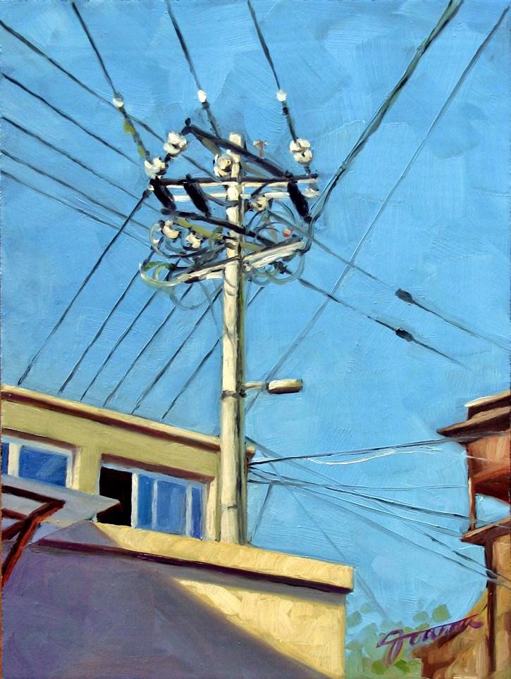 """I Get Power!"" original fine art by Joanna Bingham"