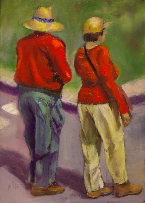 """""""Which Way"""" original fine art by Marilyn R. Place"""