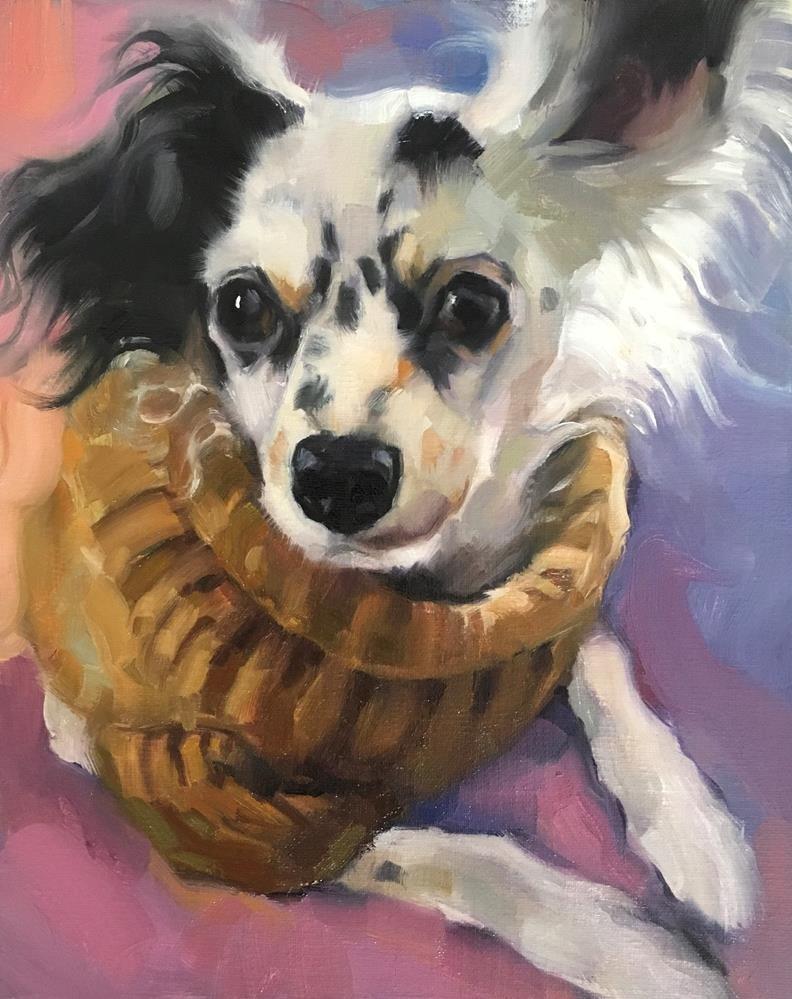 """Adopt341"" original fine art by Katya Minkina"