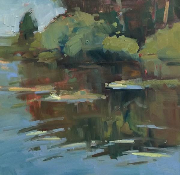 """""""Delta Ponds Day"""" original fine art by Patti McNutt"""