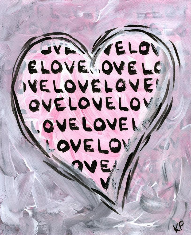 """Love it So"" original fine art by Kali Parsons"