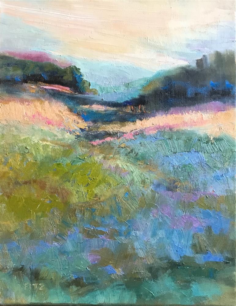 """Mountain Pass"" original fine art by Charlotte Fitzgerald"