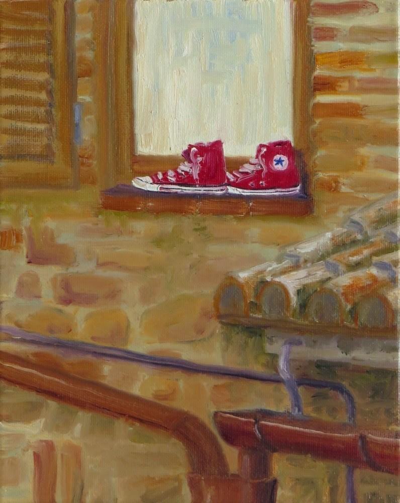 """Stinkers"" original fine art by Richard Kiehn"